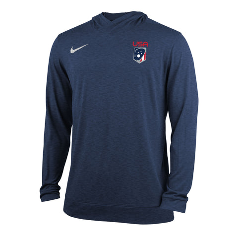 Men's Team USA Nike Dry Top Long Sleeve Hood