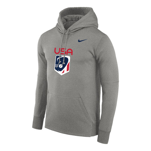 640ee2290184 Men s Team USA Nike Therma PO Hoody – US Lacrosse Member Store