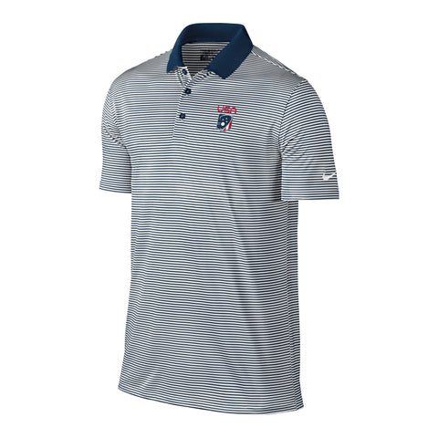 Men's Team USA Nike Victory Mini Stripe Polo