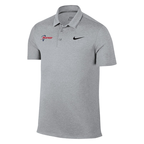 Men's US Lacrosse Nike Breathe Heather Polo