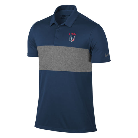 Men's Team USA Nike Breathe Colorblock Polo