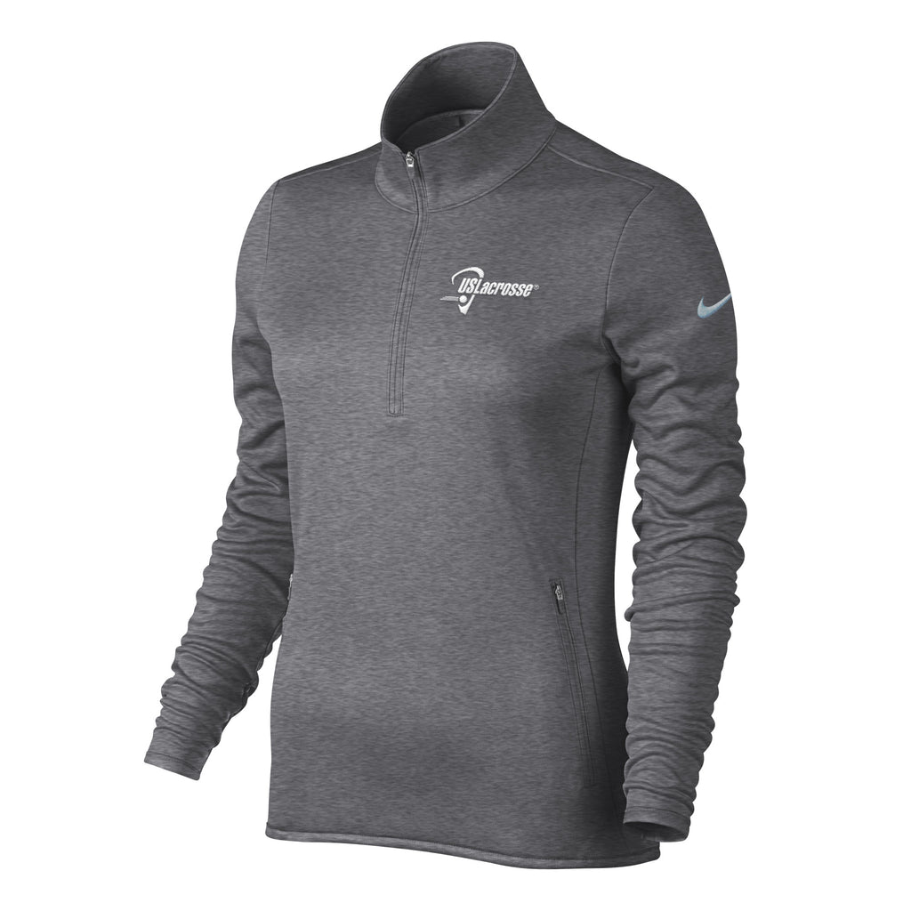 7ef233785651 Women s US Lacrosse Nike Thermal 1 2 Zip – US Lacrosse Member Store