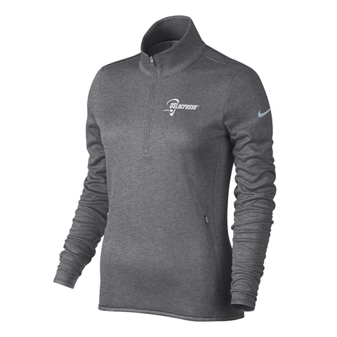 Women's US Lacrosse Nike Thermal 1/2 Zip