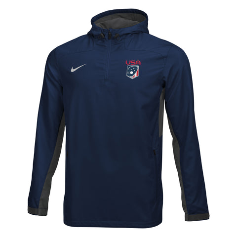 Men's Team USA Nike Woven 1/4 Zip Jacket