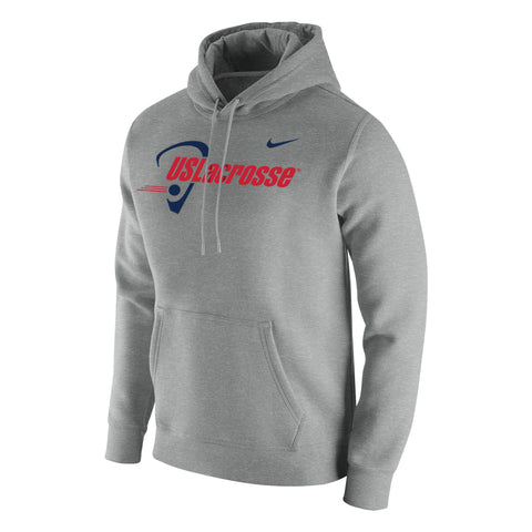 Men's US Lacrosse Nike Stadium Club Fleece Pullover