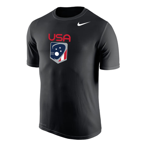 62c89ee1a0 Men s Team USA Nike Legend Dri-Fit SS Crew – US Lacrosse Member Store