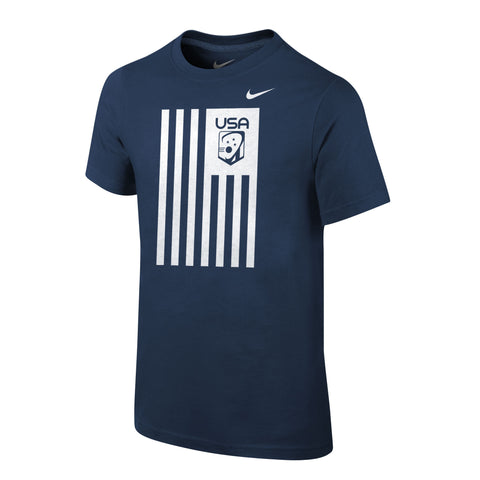 Youth Boy's Team USA Core Cotton Flag Shirt