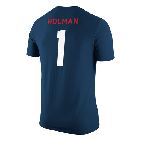 Adult''s Holman USA Nike Cotton Jersey Tee