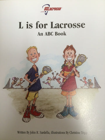L is For Lacrosse ABC Book