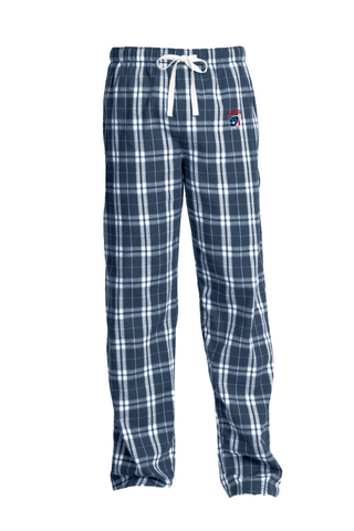 Adult's USA Flannel Plaid Pajama Pants