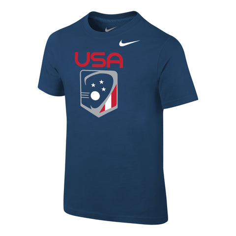 Preschooler's Team USA Nike Core Cotton SS Tee