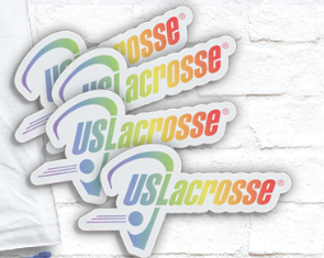 US Lacrosse Pride Sticker
