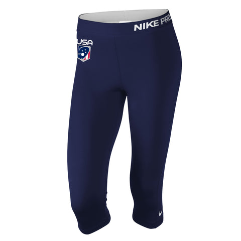 Women's Team USA Nike Pro Capri
