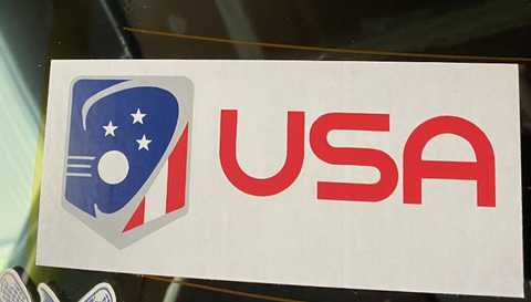 Team USA Car Sticker Decal