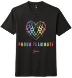 "Adult's US Lacrosse ""Proud Teammate"" Tri-Blend Short Sleeve Tee"