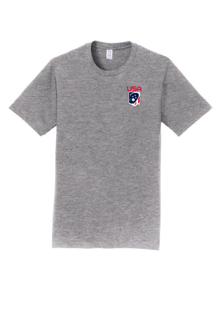 Adult's Team USA Port & Company Short Sleeve Tee