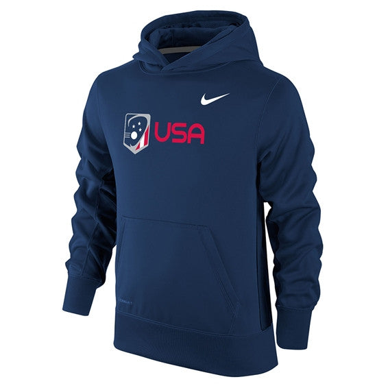 d8a75abc89c4 Youth Team USA Nike Therma-Fit KO Hoodie – US Lacrosse Member Store