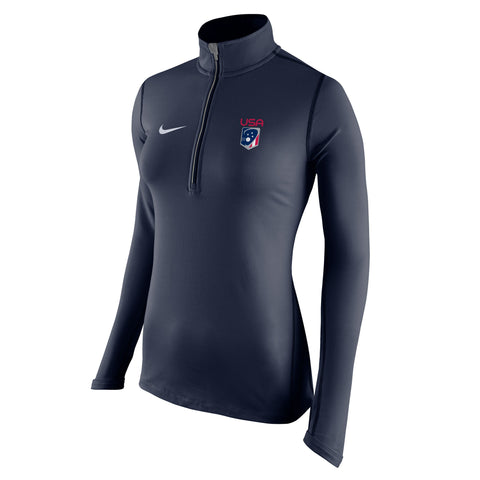 Women's Team USA Nike Tailgate Element Half Zip