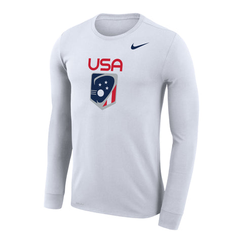 Men's Team USA Nike Legend Dri-Fit Long Sleeve Tee