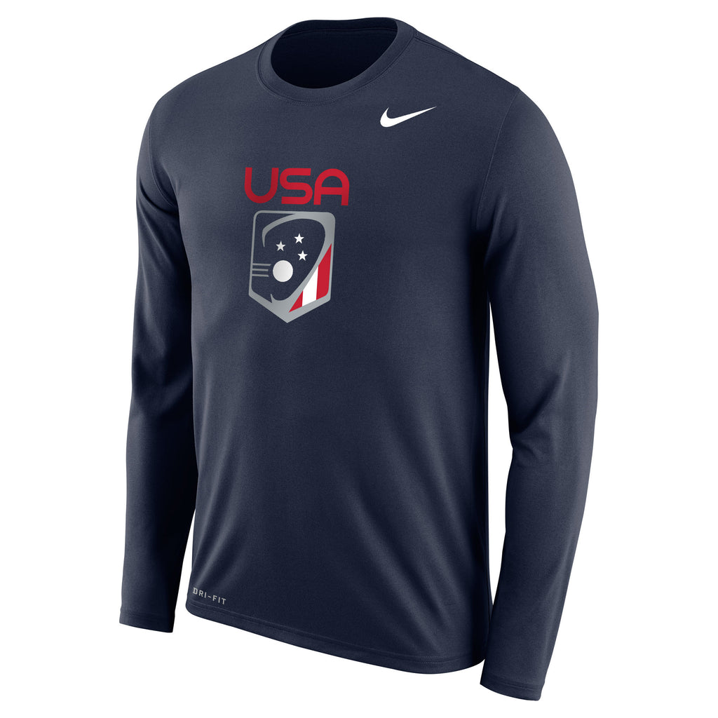 bdefa31920 Men s Team USA Nike Legend Dri-Fit LS Crew – US Lacrosse Member Store