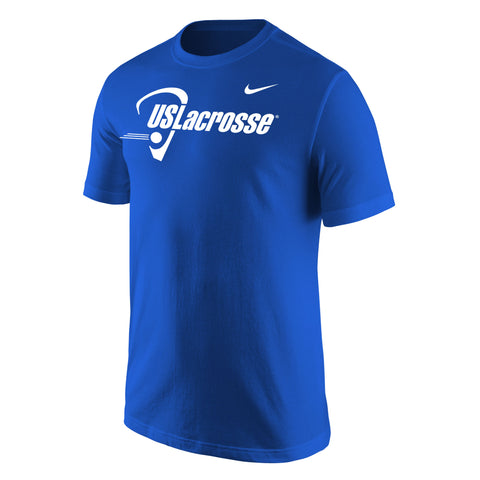 Men's US Lacrosse Nike Core Cotton SS Tee