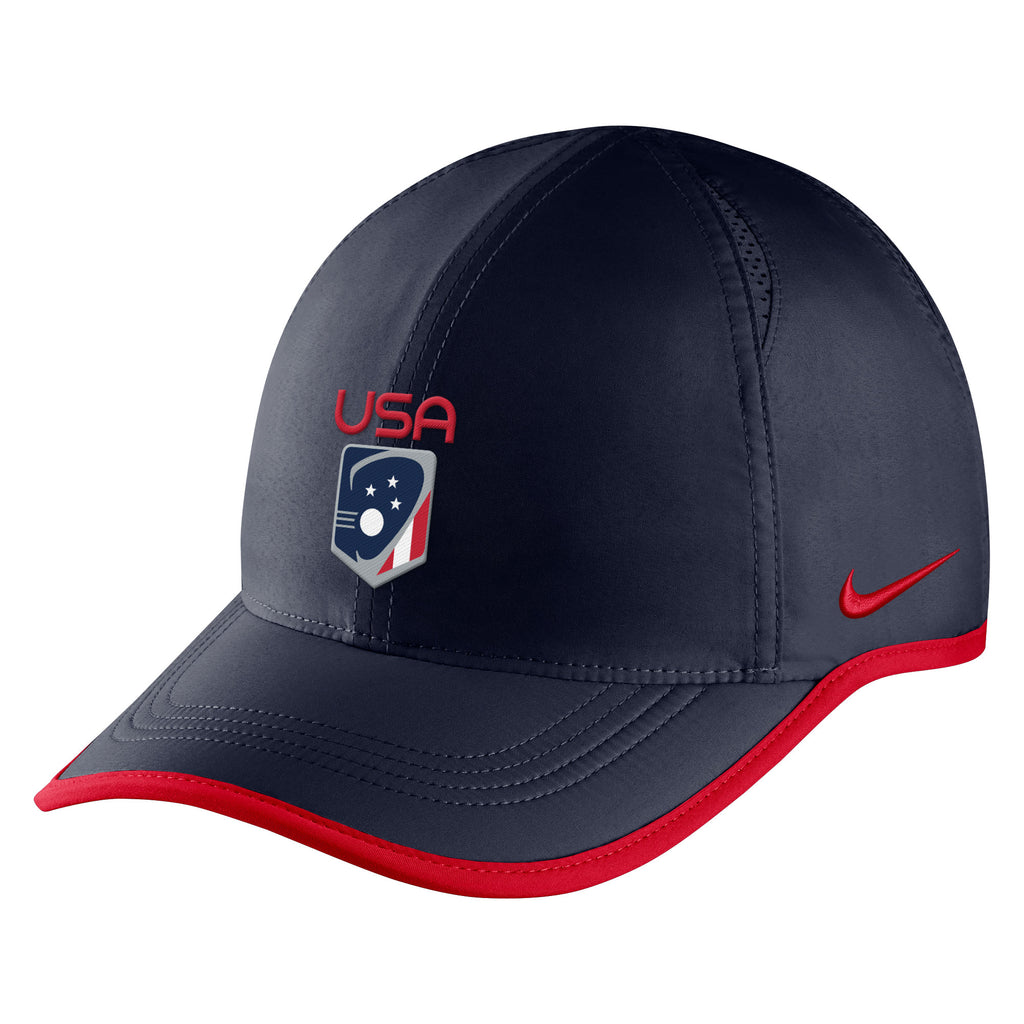 Team USA Nike Featherlight Cap – US Lacrosse Member Store 197581bb450