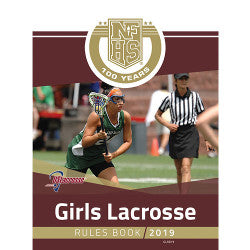 2019 NFHS Girls Lacrosse Rules Book