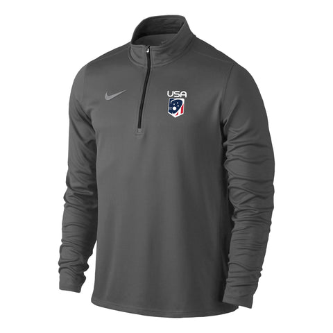 Men's Team USA Nike Solid Element 1/4 Zip Top