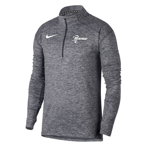 Men's US Lacrosse Nike Heathered Element 1/4 Zip