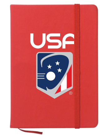 USA Lacrosse Journal Notebook