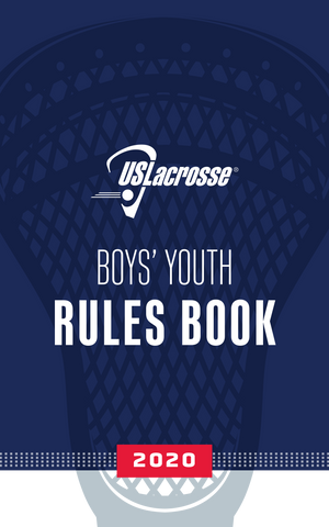 2020 Youth Boys Rules Book