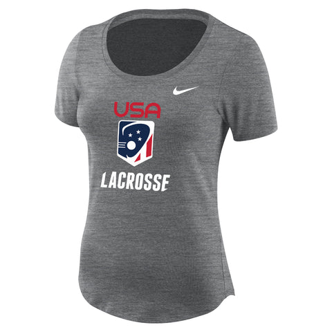 Women's Team USA Nike Dry Slub SS Scoop T-shirt