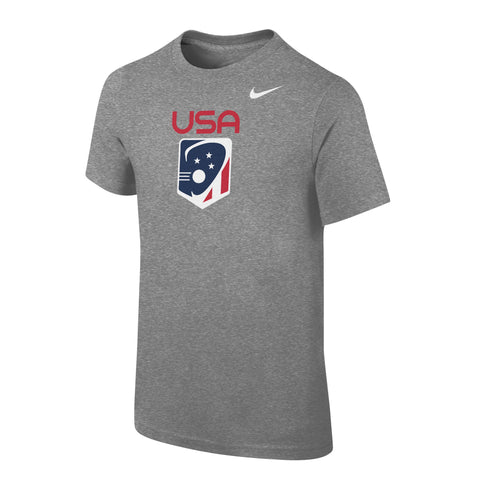 Youth Boy's Team USA Nike Core Cotton SS Tee