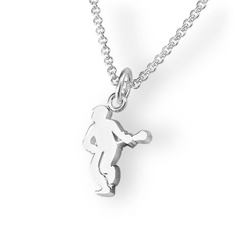 Lacrosse Player Pendant