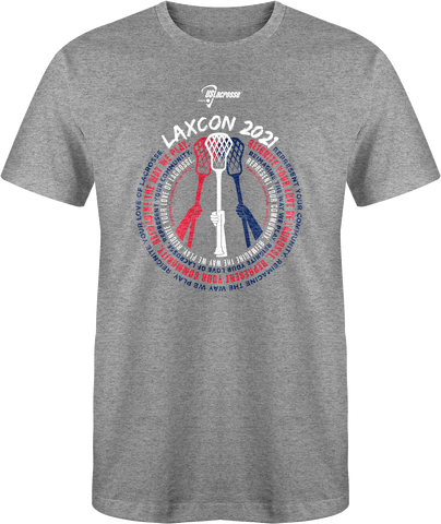 Adult's US Lacrosse 2021 LaxCon T-Shirt