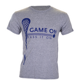 US Lacrosse Foundation GAME ON PASS IT ON T-Shirt