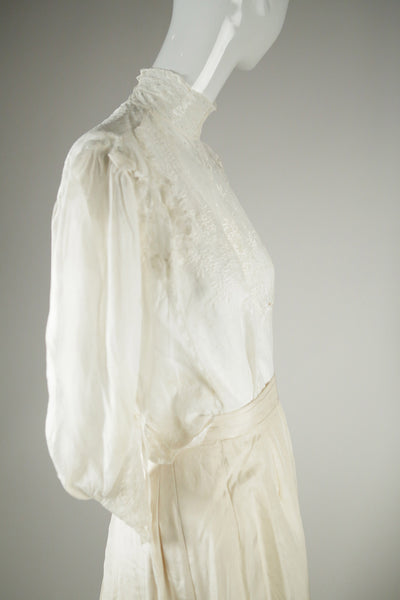 T063- Victorian Wedding Blouse