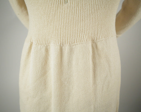 D056- 1970s 3/4 Sleeve Dress