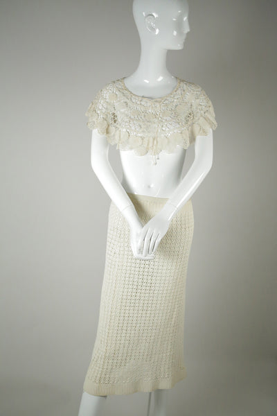 crochet shrug wedding cover up