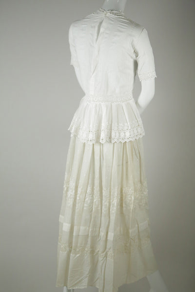 S030- Edwardian Embroidered Skirt
