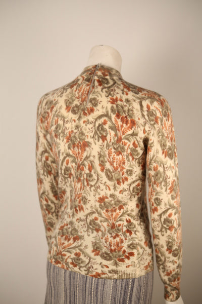 T126- Bellino Wallpaper Printed Long Sleeve Sweater
