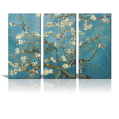 Hand Painted Almond Blossom by Van Gogh Oil Painting Unframe - Amoy Shop