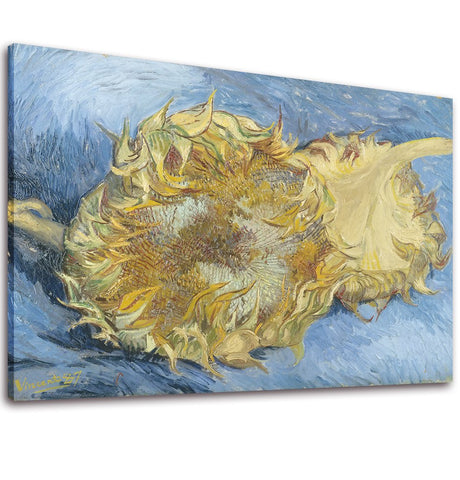 Hand Painted Sunflower by Van Gogh Oil Painting Unframe - Amoy Shop