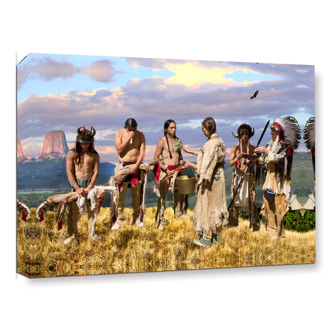 Ready to Hang Framed Indian The band Canvas Wall Art - Amoy Shop