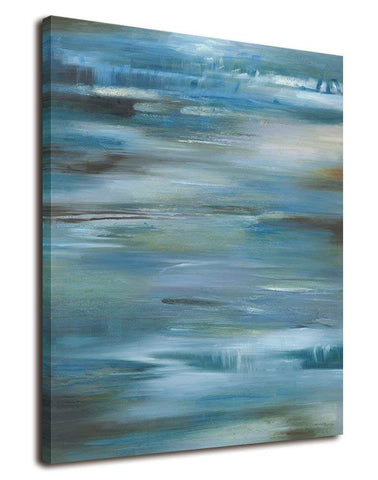 Abstract Waterfall Canvas Wall Art Framed - Amoy Shop