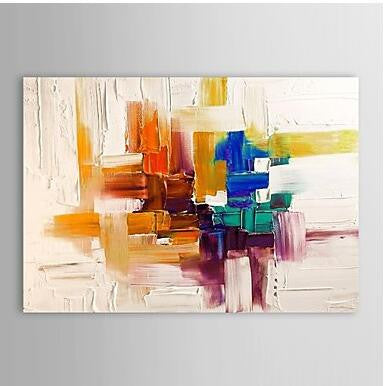 Hand Painted Abstract Oil Painting - Amoy Shop