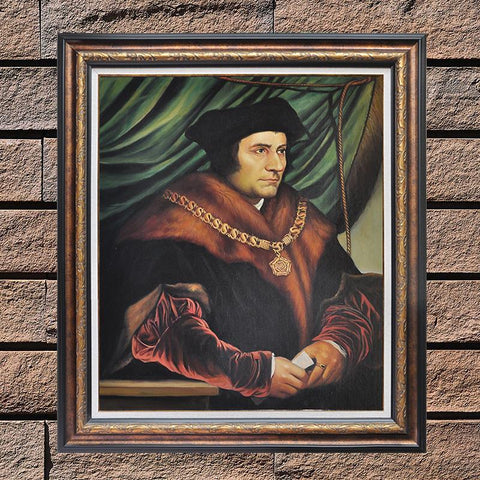 Hand Painted Sir Thomas More Oil Paintings - Amoy Shop
