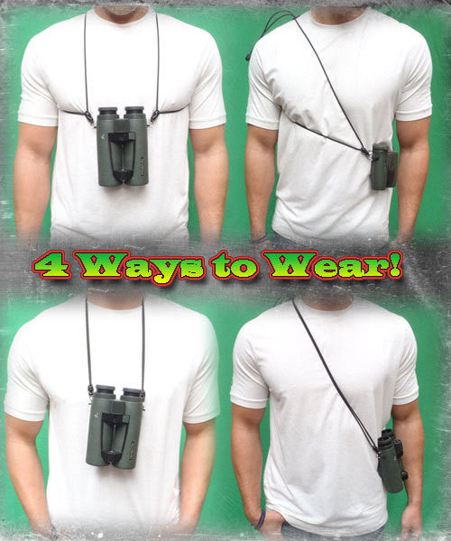 Ultra-Light Binocular Harness (Black)