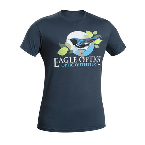 Eagle Optics Black-throated Blue Warbler Tee (2XL)