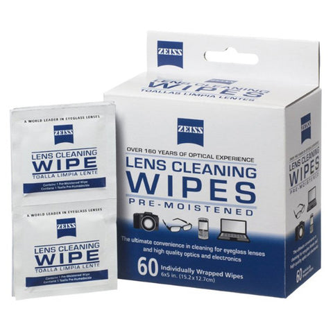 Zeiss Lens Wipes 60 count